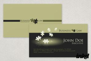 General Legal Business Card by inkddesign