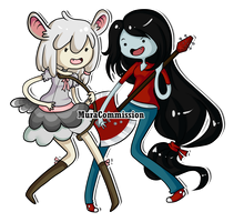 .:Minnie and Marcie:. by MuraCommission