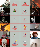 Movie Maniacs Icons-Series One by bitemetechie