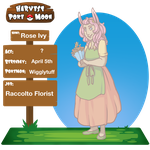 HPM NPC: Rose Ivy by ElfSama