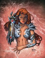 Witchblade - Oracle Colors by Arciah