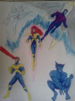 X-Factor circa the Early 90's by dhbraley