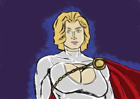 Power Girl (March 2013) by fmvra1s