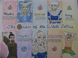 The Order of the White Lotus by sleepyzebra