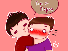 Willyrex - Vegetta777 - Abrazo by GenerisMomo
