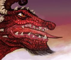 Speed Painting Dragon by Jameslfree