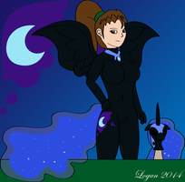 Night's Eternal - Leria into Nightmare Moon by TheSuitKeeper89