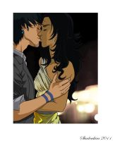 Drea and Mugen-With You by missmjwilson