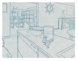Portfolio Room Drawing 2 by AlexanderHenderson