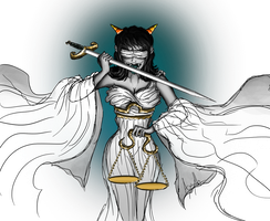 REQ- Terezi Lady Justice by Axylh