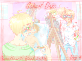 usuk :: sweethearts week // day 4 by CaptainJellyroll