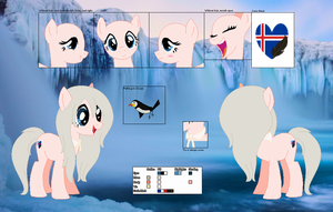 Icey Feather's official reference sheet by Starlollipop