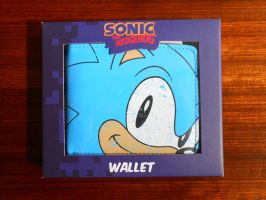 Classic Sonic Face Wallet by BoomSonic514