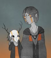 Mother and Son by Distorted-Eye