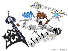 Pride Lands Sora Final Form by Nightrizer