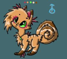 Tribal Pastrycat Custom Design (Candycuties) by DalmationCat