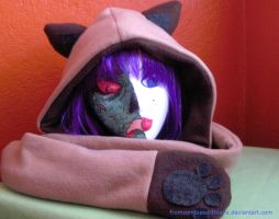 Siamese Cat Scoodie by fromzombieswithlove