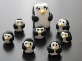 PENGUINS!!! by abstract-dreamer