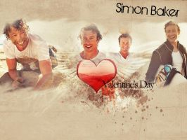 Simon Baker beach love by Anthony258