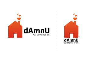 dAmnU Logo Contest Entry by mushir