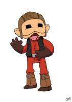 N is for Nien Nunb by striffle