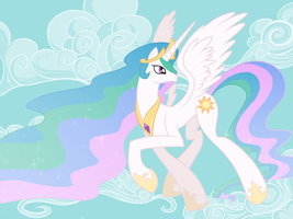 Princess Celestia by ShikaNime