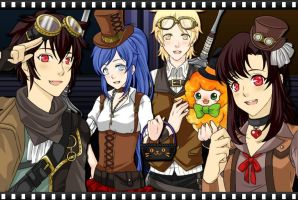 A Steampunk Celebration by DaughterOfMaat