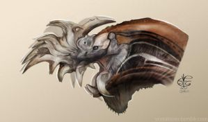Greater Razor Jaw dragon by V4m2c4
