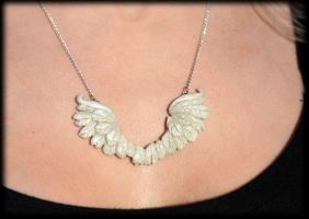My Guardian Angel 1 with Model by NeverlandJewelry
