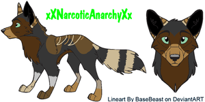 xXNarcoticAnarchyXx's last pup by MapleKennels