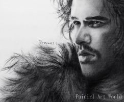 Jon Snow by Painirl