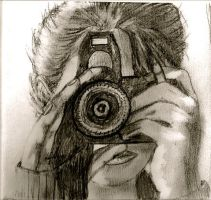Self Portrait 1--The Photographer by SageFillyLuna