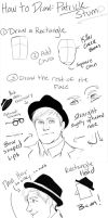 How to draw Patrick Stump by Meglm5291