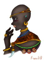 African Beauty by FrauV8