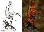 Hellgirl by Randy Green by pixeltease