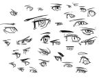 some kind of eyes sketches 14/4/4 by Lochris