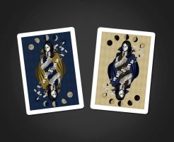 Illusionist cards by MeganMissfit
