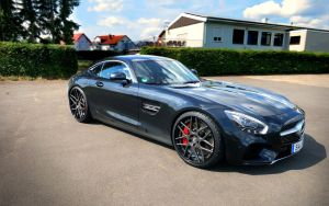 2015 LOMA Wheels Mercedes AMG GT S by ThexRealxBanks