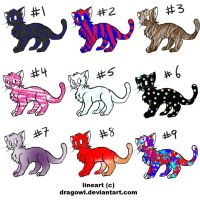 Free Cat Adoptables! -CLOSED!- by Ilovesouthparkyaoi