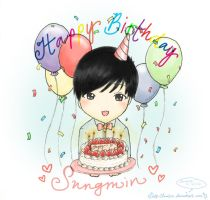 Happy Birthday Lee Sungmin 2012 by Lanaleiss