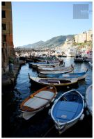 :: boats in camogli by moiraproject