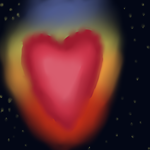 Flaming Heart by RogueWarrior869