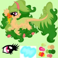 OC Ref **UN NAMED*** Kirin pony by EmR0304