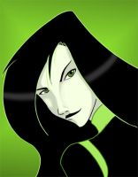 Shego Head Shot by fortheloveofpizza