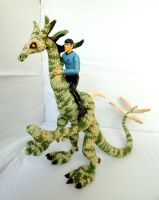 its a dragon!..its a dinosaur!..its..spock?! by MartianRaindrop42