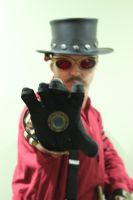 Steampunk Iron Man by AirshipPirateDaylina