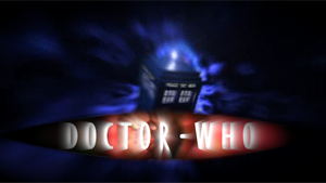 Doctor Who 50th Anniversary Logos: 9th-10th Doctor by BlackLanternDaddy