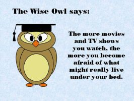 The Wise Owl says by Nightwish91