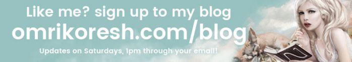 Sign up to my Blog by OmriKoresh