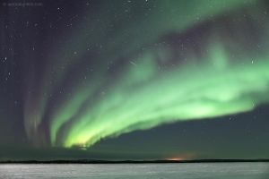 Northern Lights, Inari by andykeen